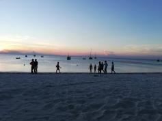 Wunderschön! Sonnenuntergang im Norden Sansibars